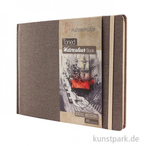 Hahnemühle Toned Watercolour Book Beige, 30 Blatt, 200g