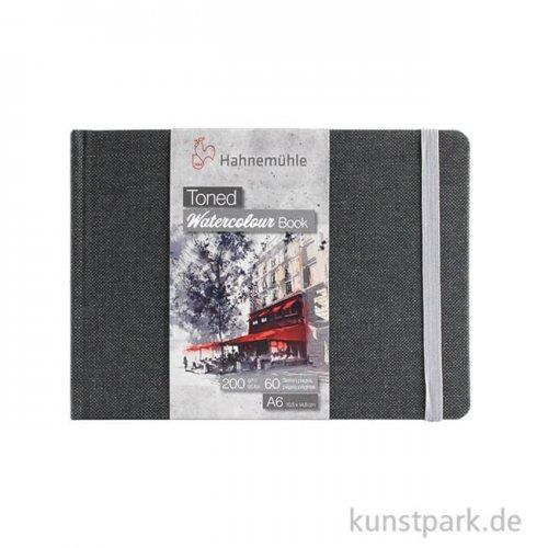 Hahnemühle Toned Watercolour Book Grey, 30 Blatt, 200g DIN A6