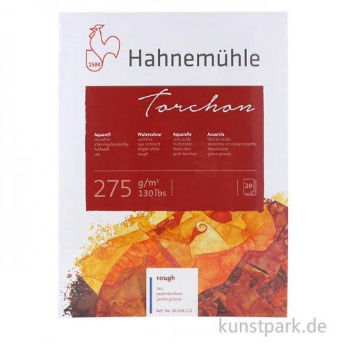 Hahnemühle TORCHON Aquarellblock, 20 Blatt, 275g rau