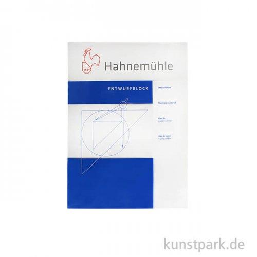 Hahnemühle TRANSPARENT Entwurfblock, 60 Blatt, 90g DIN A4