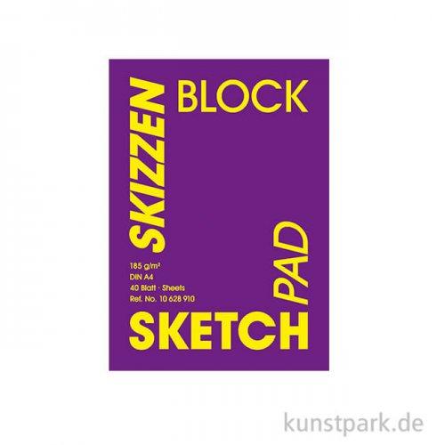 Hahnemühle VELVET Skizzenpapier, 40 Blatt, 185g DIN A3