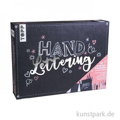 Handlettering Die wunderbare Kreativbox, Topp Verlag