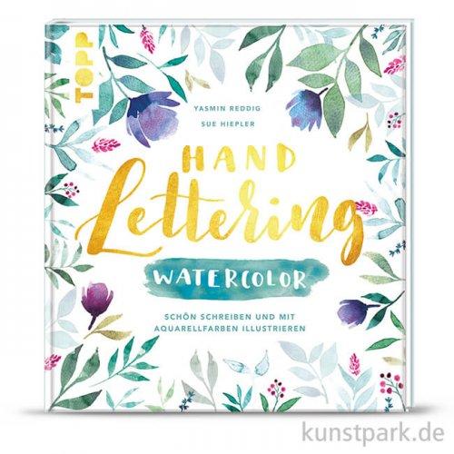 Handlettering Watercolor, Topp Verlag