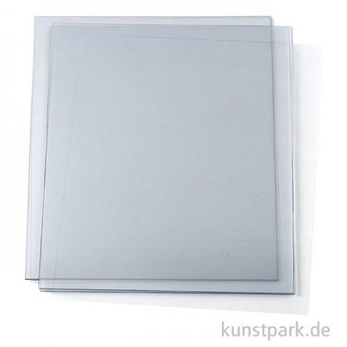 Hartfolie transparent, 5 Blatt, 190 Micron, DIN A4