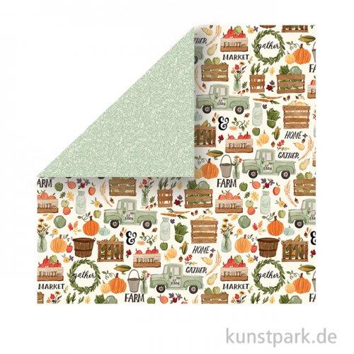 Hello Autumn Scrappapier - Fall Harvest
