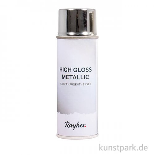 High Gloss - Metallic Spray, Silber, 200 ml