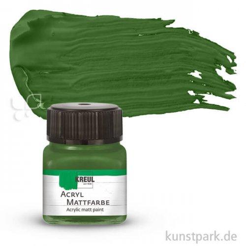 KREUL Acryl Mattfarbe 20 ml | Olivgrün