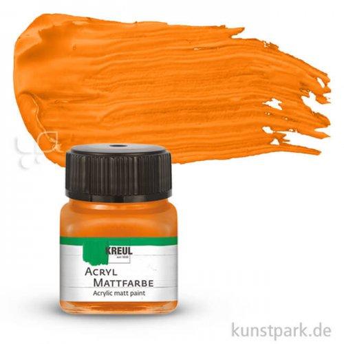 KREUL Acryl Mattfarbe 20 ml   Orange
