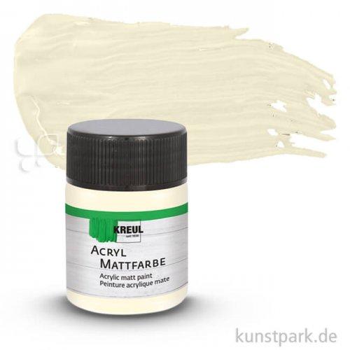 HOBBY LINE Acryl Mattfarbe 50 ml | Elfenbein