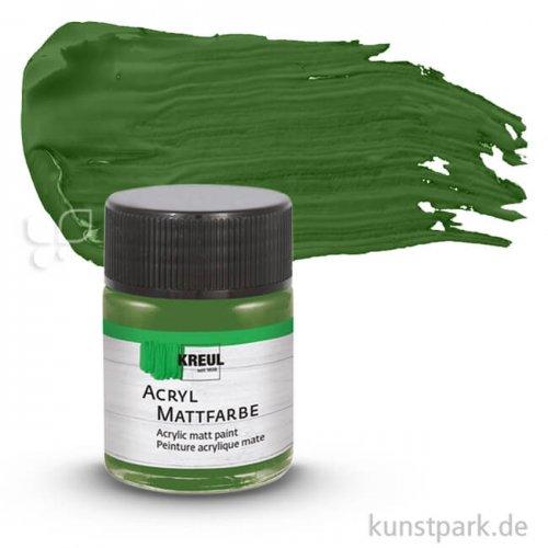 HOBBY LINE Acryl Mattfarbe 50 ml   Olivgrün