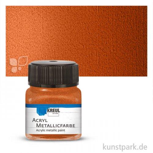 HOBBY LINE Acryl Metallicfarbe 20 ml | Kupfer