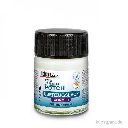 Foto Transfer Potch Überzugslack Glimmer 50 ml