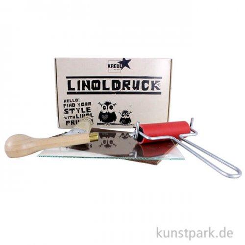 KREUL Linoldruck-Set für Einsteiger