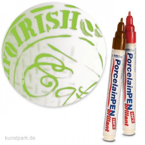 KREUL Glass & Porcelain Pen - Classic 2-4 mm   Reseda