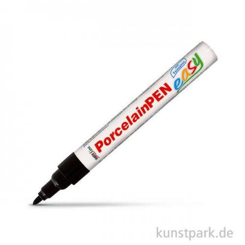 HOBBY LINE Porcelain Pen easy mit Feinspitze in Schwarz