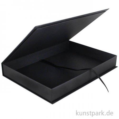 Hochwertige Fotoarchivbox Leinen