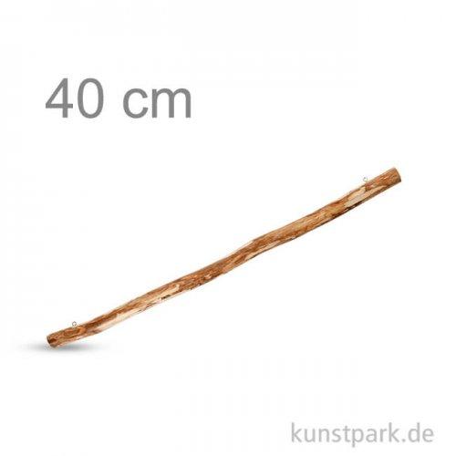 Holzast mit 2 Ösen zum Aufhängen, Länge 40 cm