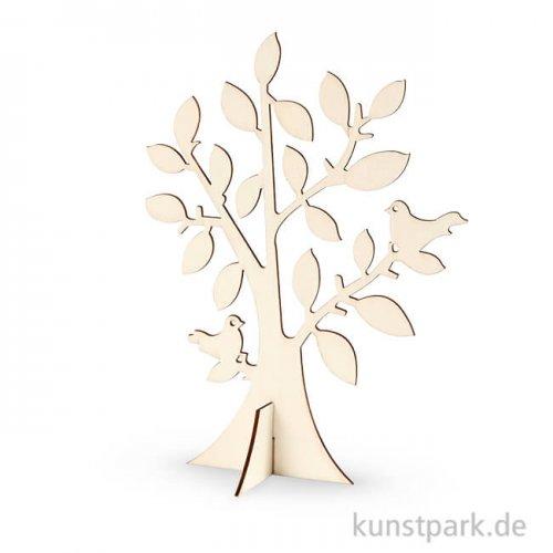 Holzbaum - mit großer Krone