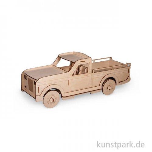 Holzbausatz 3D Lastwagen 21 x 8 x 8 cm