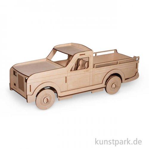 Holzbausatz 3D Lastwagen