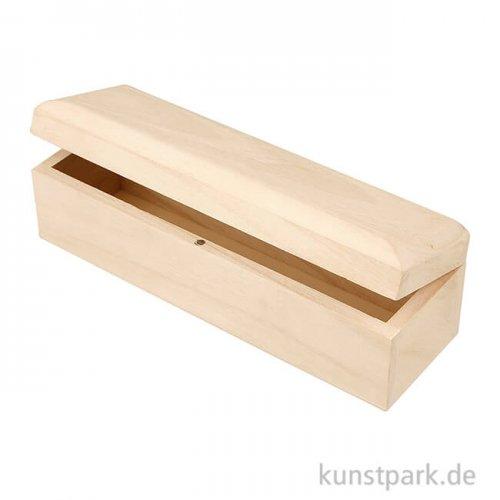 Holzkasten in Langform - 20 x 6 x 6 cm