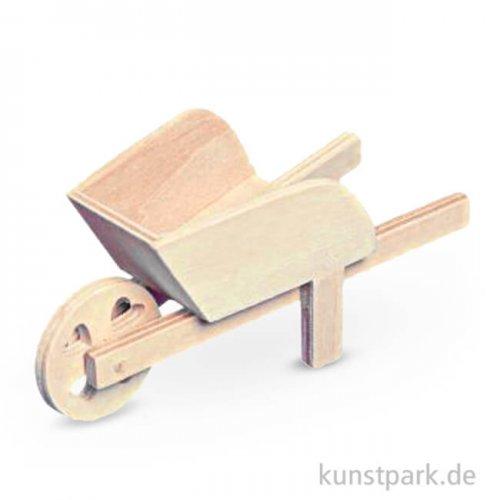 Mini Holzschubkarre 12 cm, 1 Stück