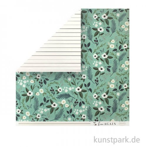 Home Again Scrappapier - Lovely Floral