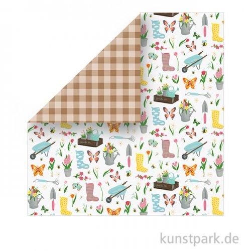 I Love Spring Scrappapier - Garden Party