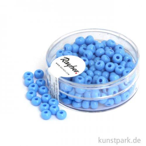 Indianer-Perlen - 4,5 mm, 17 g Dose 17 g Dose   Hellblau
