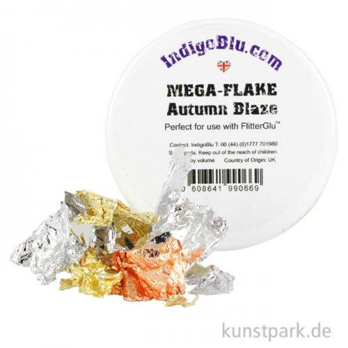 IndigoBlu Deko-Metall-Flocken Autumn Blaze, 1,7 g Dose