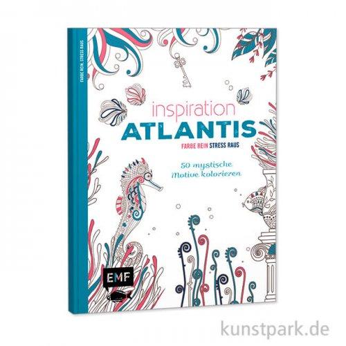 Inspiration Atlantis, 50 mystische Motive kolorieren, Edition Fischer