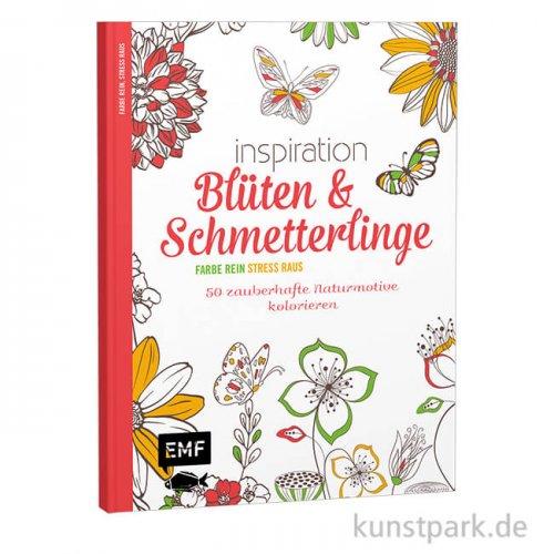 Inspiration Blüten & Schmetterlinge, 50 zauberhafte Motive, Edition Fischer