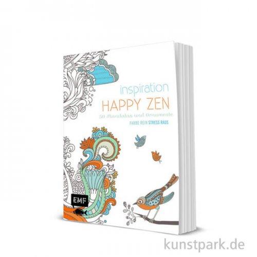 Inspiration Happy Zen, 50 fröhliche Motive und Ornamente kolorieren, Edition Fischer