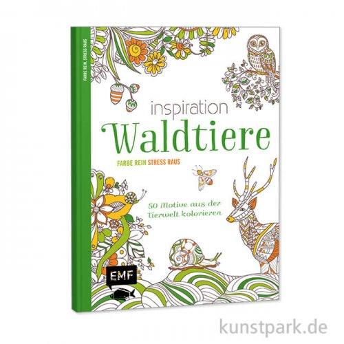 Inspiration Waldtiere, 50 Motive aus der Tierwelt kolorieren, Edition Fischer