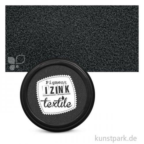 IZINK Pigment Textil Stempelkissen 7 cm   Khol