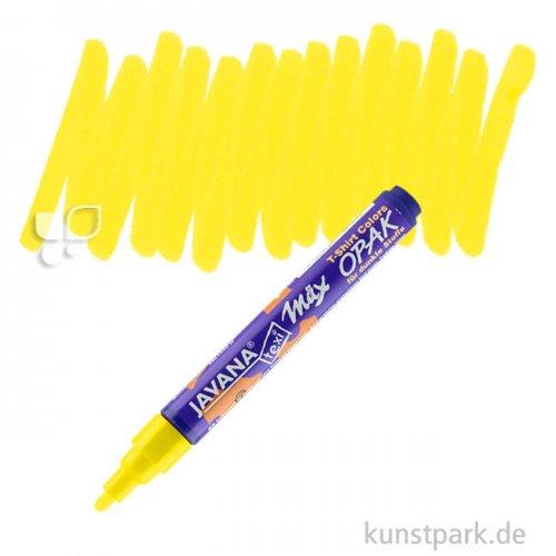 KREUL Textil Marker Opak medium Stift   Gelb