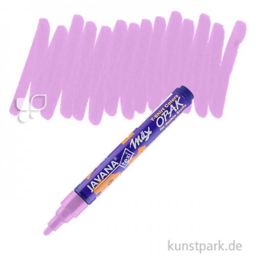 KREUL Textil Marker Opak medium Stift   Violett