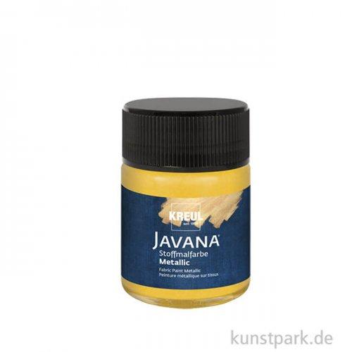 JAVANA Textil METALLIC - Stoffmalfarbe, 50 ml, Gold