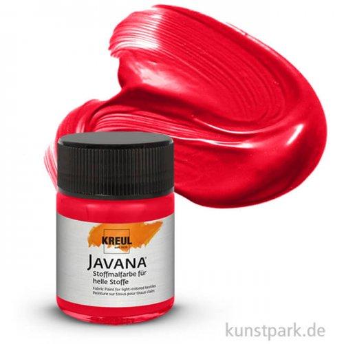 JAVANA Textil SUNNY - Stoffmalfarbe für helle Stoffe 50 ml | Karminrot