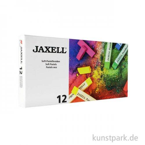 JAXELL Pastellkreide, 12 Stifte im Kartonetui