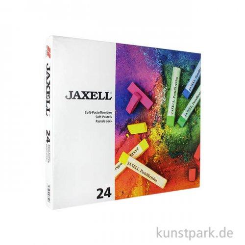 JAXELL Pastellkreide, 24 Stifte im Kartonetui