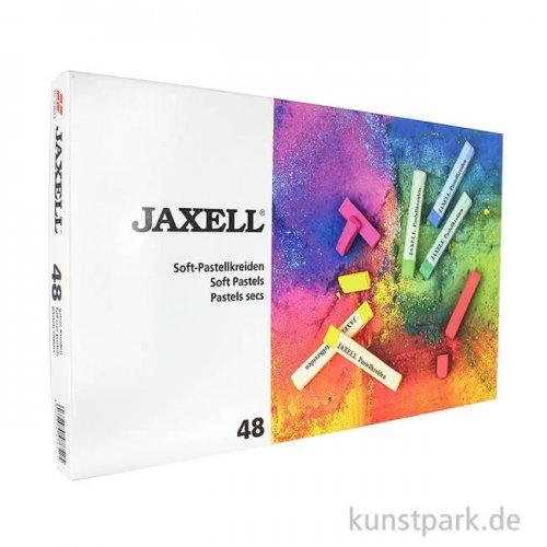 JAXELL Pastellkreide, 48 Stifte im Kartonetui