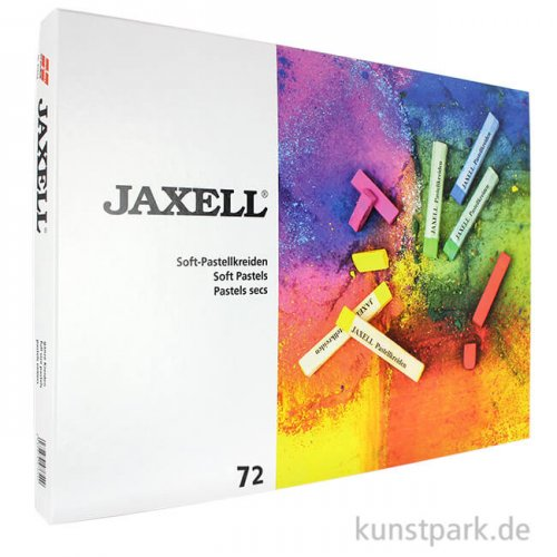 JAXELL Pastellkreide, 72 Stifte im Kartonetui