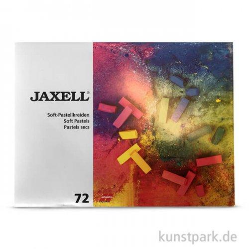 JAXELL Pastellkreide, 72 halbe Stifte im Kartonetui