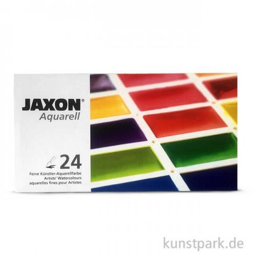 JAXON Aquarell, 24 ganze Näpfchen im Metallkasten