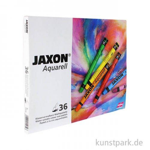 JAXON Aquarell Pastell, 36 Stifte im Kartonetui