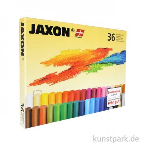 JAXON Ölpastellkreide, 36 Stifte im Kartonetui