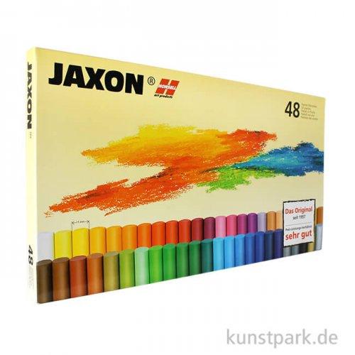 JAXON Ölpastellkreide, 48 Stifte im Kartonetui