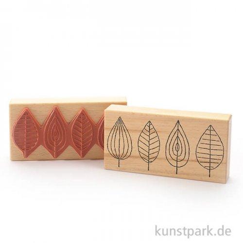 Judi-Kins Stamps - Blätterparade - 7x14 cm