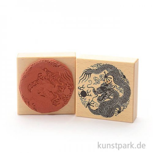 Judi-Kins Stamps - chinesischer Drache - 8x8 cm